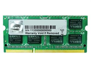 G.Skill 4GB DDR3 1333MHz SODIMM RAM
