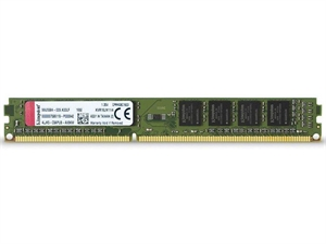 Kingston ValueRam 4GB 1600MHz Single Stick Low Voltage DDR3L Desktop RAM