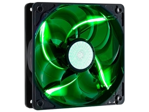 Cooler Master SickleFlow X 120mm Case Fan - Green LED