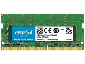 Crucial 16GB DDR4 2400MHz Dual Rank SODIMM RAM