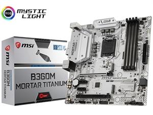 MSI B360M Mortar Titanium Intel 8th Gen Motherboard