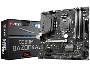 MSI B360M Bazooka Intel 8th Gen Motherboard
