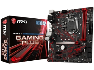 MSI B360M Gaming Plus Intel 8th Gen Motherboard