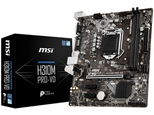 MSI H310M Pro-VD Intel 8th Gen Motherboard