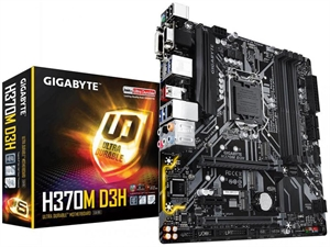 Gigabyte H370M D3H Intel 8th Gen Motherboard