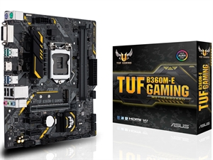ASUS TUF B360M-E Gaming Intel 8th Gen Motherboard