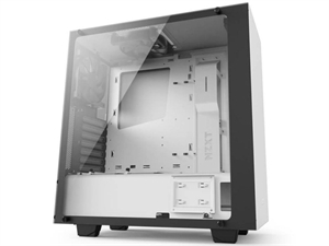 NZXT Source S340 Elite ATX Mid-Tower Case - Matte White