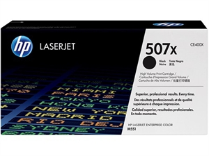 HP 507X LaserJet Toner Cartridge - Black
