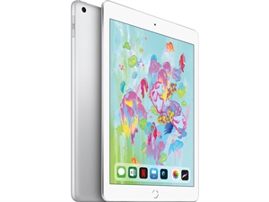 "Apple iPad 9.7"" Tablet 128GB WiFi - Silver(6th Gen. 2018)"