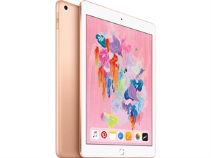 "Apple iPad 9.7"" Tablet 32GB WiFi - Gold(6th Gen. 2018)"