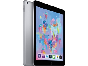 "Apple iPad 9.7"" Tablet 32GB WiFi - Space Grey(6th Gen. 2018)"