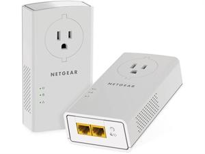 Netgear PLP2000 2 Port Gigabit Ethernet Powerline Set (2x PLP2000)