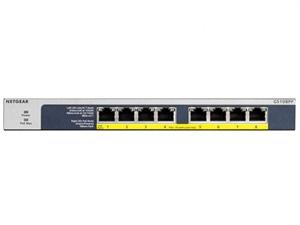 Netgear GS108PP 8 port POE/POE+ Gigabit Ethernet Unmanaged Switch
