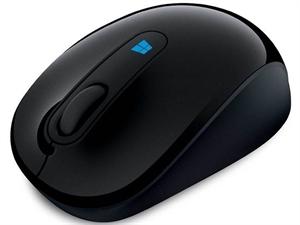 Microsoft Wireless Sculpt Mobile USB Optical Mouse - Black