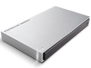 LaCie 1TB Porsche Design Slim Portable  External Hard Drive