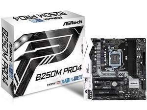 ASRock B250M-Pro4 Intel 6th/7th Gen Micro-ATX Motherboard