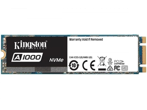 Kingston A1000 240GB M.2 (PCIe) NVMe 2280 3D NAND SSD