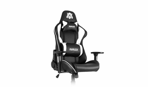 Karuza YX-1216 Gaming Chair - Black/White