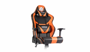 Karuza YX-802 Gaming Chair - Black/Orange
