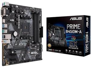 ASUS Prime B450M-A AM4 mATX Motherboard