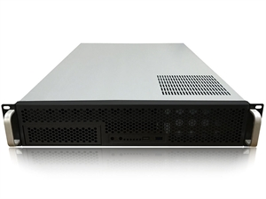 TGC Rack Mountable Server Chassis 2U with 6 Fixed HDD Bays