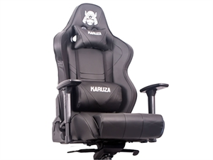 Karuza YX-802+ Multi Tilt Mechanism Gaming Chair - Black/Black
