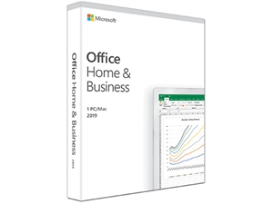 Microsoft Office 2019 Home and Business - 1 Device - Retail Medialess