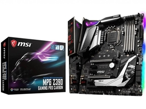 MSI MPG Z390 GAMING PRO CARBON Intel 8th/9th Gen Motherboard