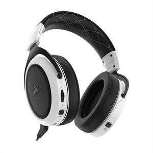 Corsair HS70 Virtual 7 1 Wireless Gaming Headset - White