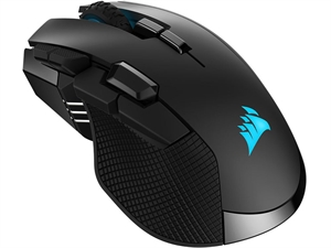 Corsair IronClaw RGB Wireless Rechargable Gaming Mouse - Black