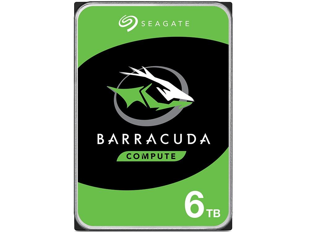 "Seagate BarraCuda 6TB 3.5"" Internal Hard Drive"